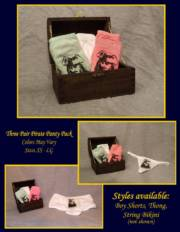 Capt. Jack's Ladies Pirate Panty Pack_image